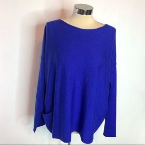 NWT Eileen Fisher boxy wool sweater